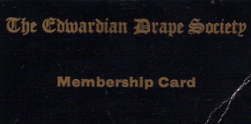 The Edwardian Drape Society